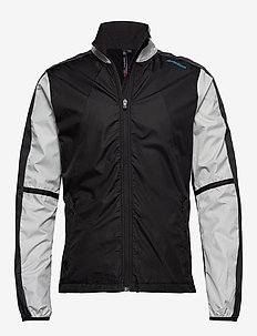 Cross Jacket - BLACK/BRIGHT GREY/DARK GREY
