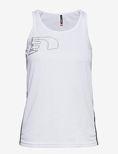 Core Coolskin Singlet - linnen - white