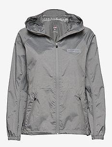 Women's Waterproof Jacket - GREY MELANGE