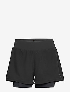Women's 2-in-1 Shorts - BLACK
