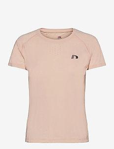 WOMEN´S GYM TEE - t-shirty - pale peach