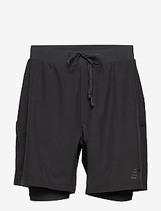 Men's 2-in-1 Shorts - BLACK