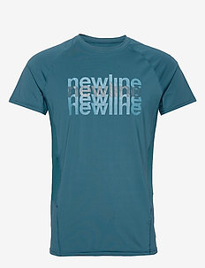 Men's Running Tee - MAJOLICA BLUE