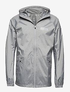 Men's Waterproof Jacket - GREY MELANGE
