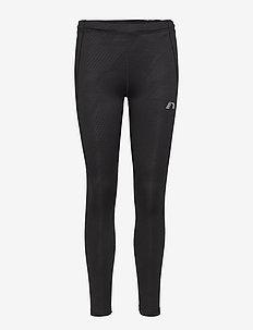 Black Warm Tights - löpnings- och träningstights - black