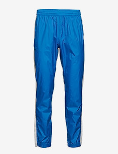 Black Track Cross Pants - treenihousut - bright blue