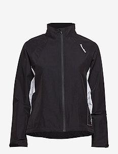 BLACK TRAINING UTILITY JACKET - training jackets - black