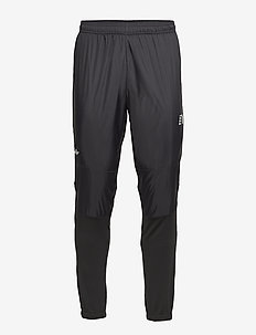 Black Cross Pants - BLACK