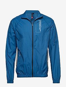 BLACK TRACK JACKET - training jackets - blue