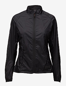BLACK WINDSHIELD JACKET - training jackets - black