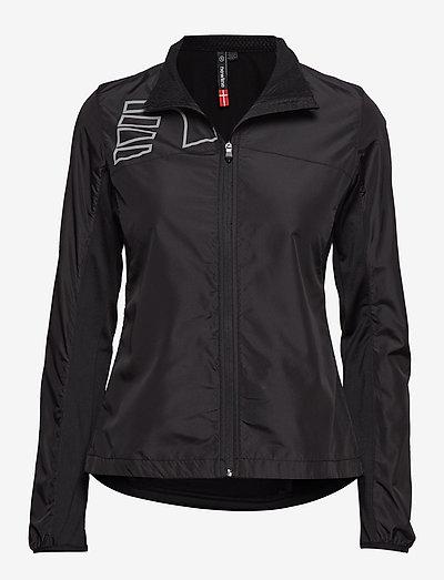 CORE CROSS JACKET - training jackets - black