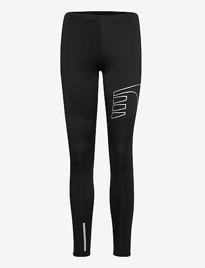 CORE TIGHTS - running & training tights - black