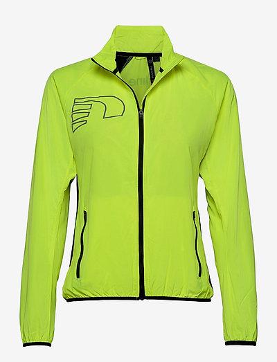 CORE JACKET - training jackets - neon yellow