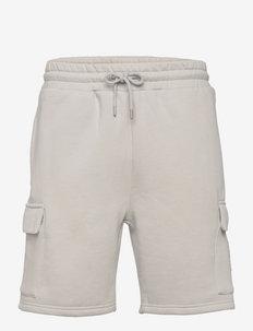 TETRAD CARGO SHORTS - casual shorts - stone grey