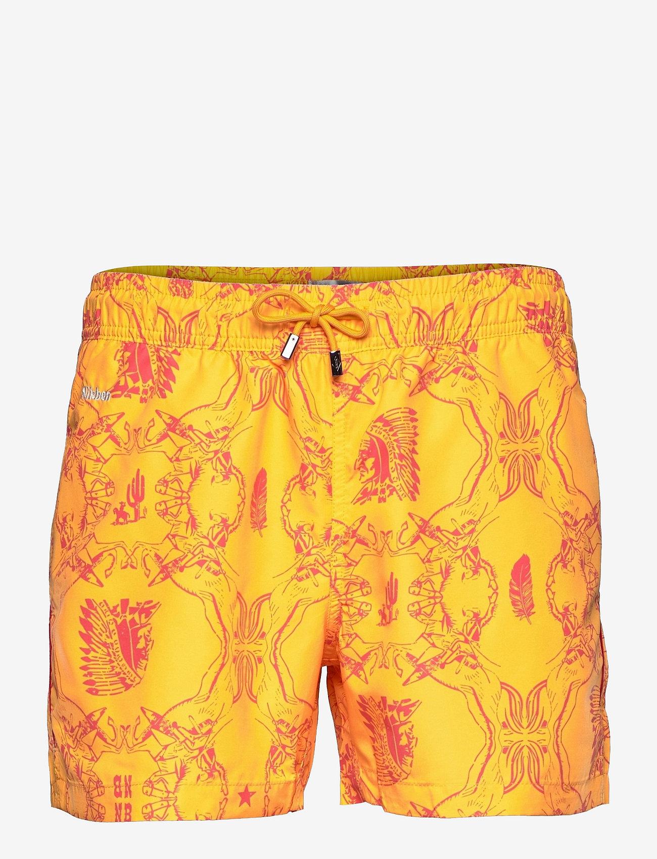 Nikben - NB Chief - shorts de bain - yellow - 0