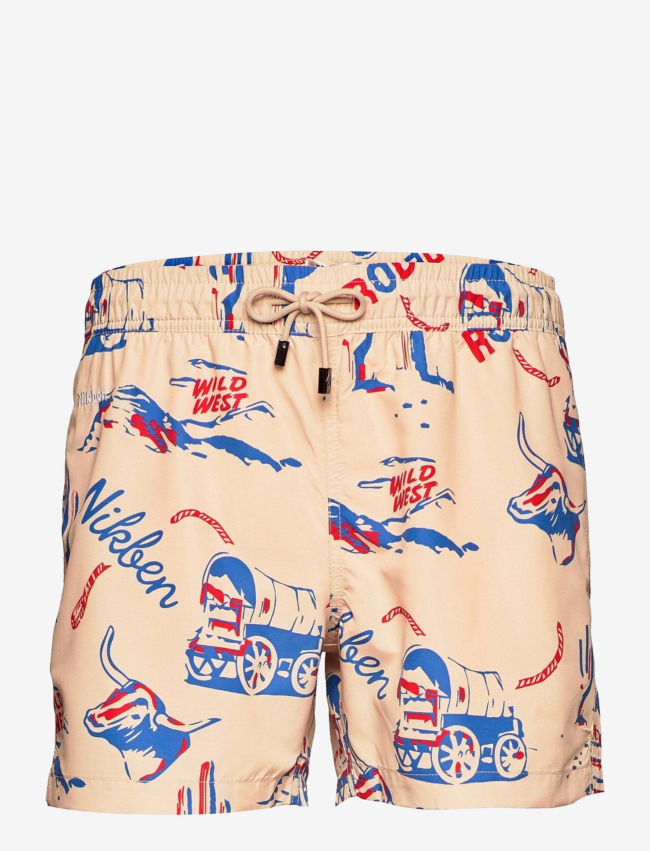 Nikben - Nikben Rodeo - shorts de bain - beige - 0
