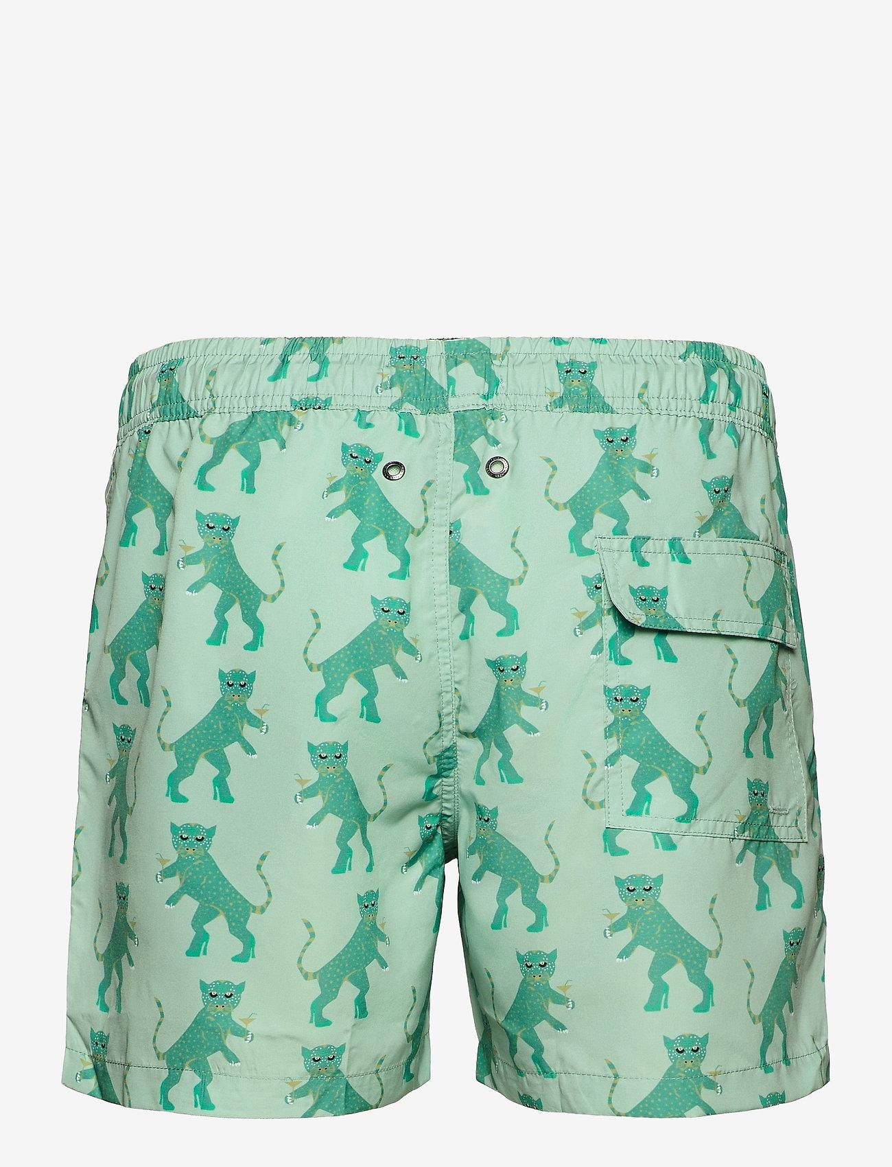 Nikben - Kinky Tiger - shorts de bain - grey/green - 1