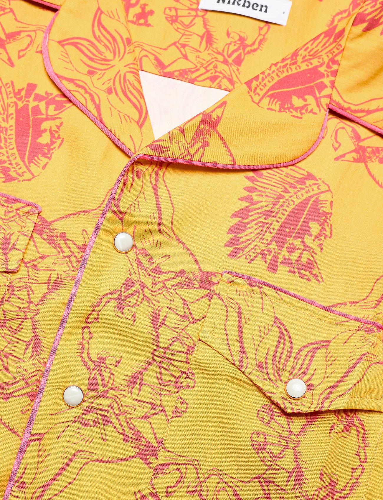 Nikben - NB Chief Shirt - koszule w kratkę - mustard - 3