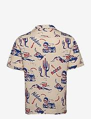 Nikben - Rodeo Western Shirt - geruite overhemden - beige - 1