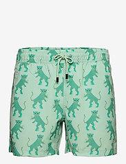 Nikben - Kinky Tiger - shorts de bain - grey/green - 0