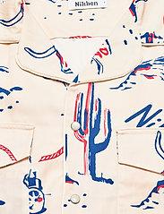 Nikben - Rodeo Western Shirt - geruite overhemden - beige - 2