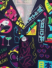Nikben - Tokyo Paradise Shirt - chemises de lin - night bue - 2