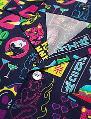 Nikben - Tokyo Paradise Shirt - chemises de lin - night bue - 3