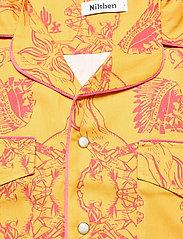 Nikben - NB Chief Shirt - chemises de lin - mustard - 2