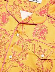 Nikben - NB Chief Shirt - chemises de lin - mustard - 3