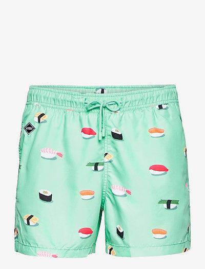 Jiro - shorts de bain - turquoise