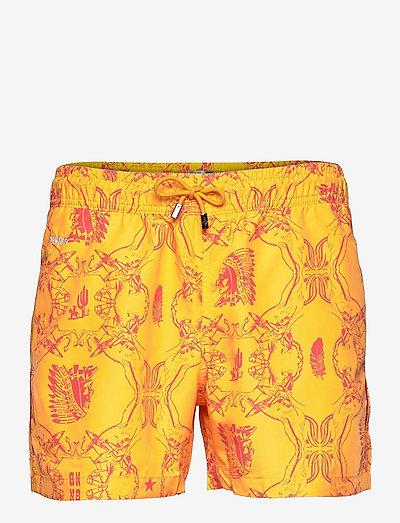NB Chief - shorts de bain - yellow
