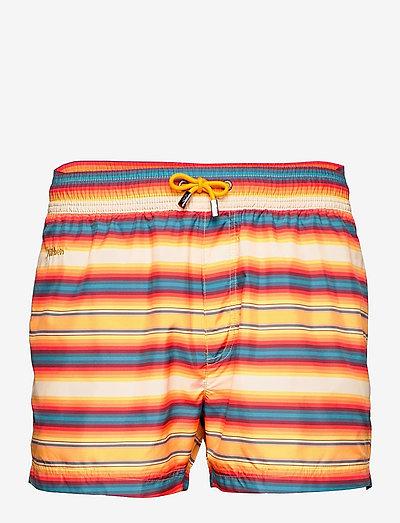 Stripe - shorts de bain - multi