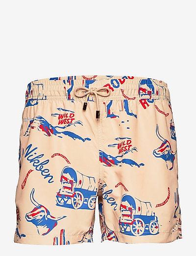 Nikben Rodeo - shorts de bain - beige