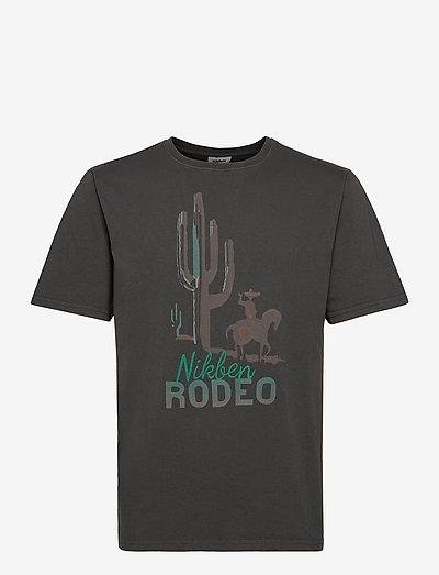 Big Rodeo Tee - t-shirts à manches courtes - black