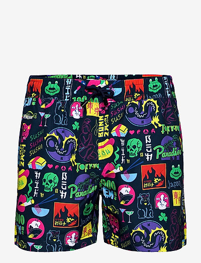 Tokyo Paradise - shorts de bain - night bue