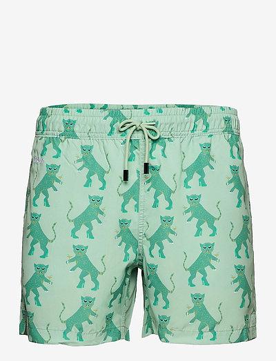 Kinky Tiger - shorts de bain - grey/green