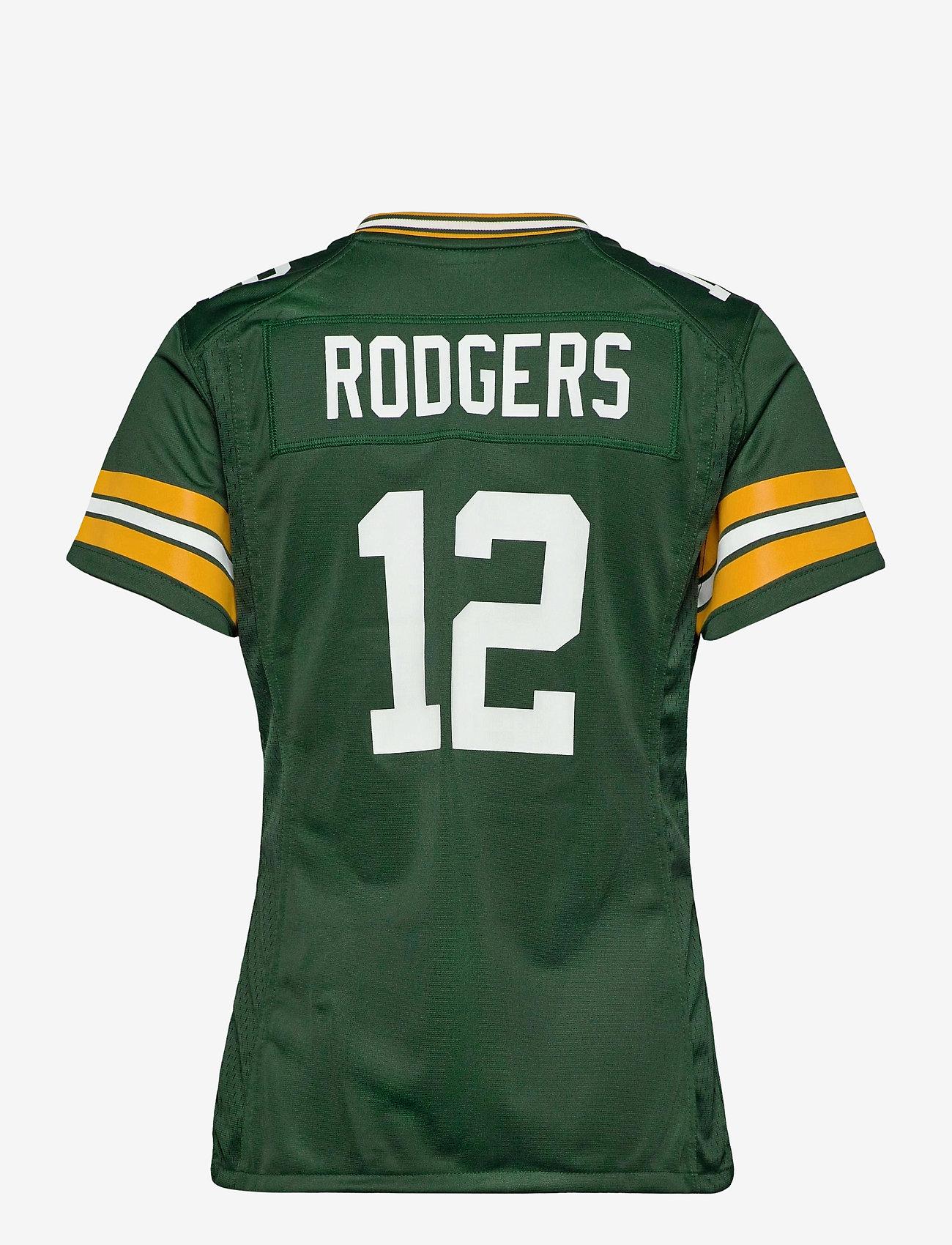 NIKE Fan Gear - Green Bay Packers Nike Game Team Colour Jersey - t-skjorter - fir - 1