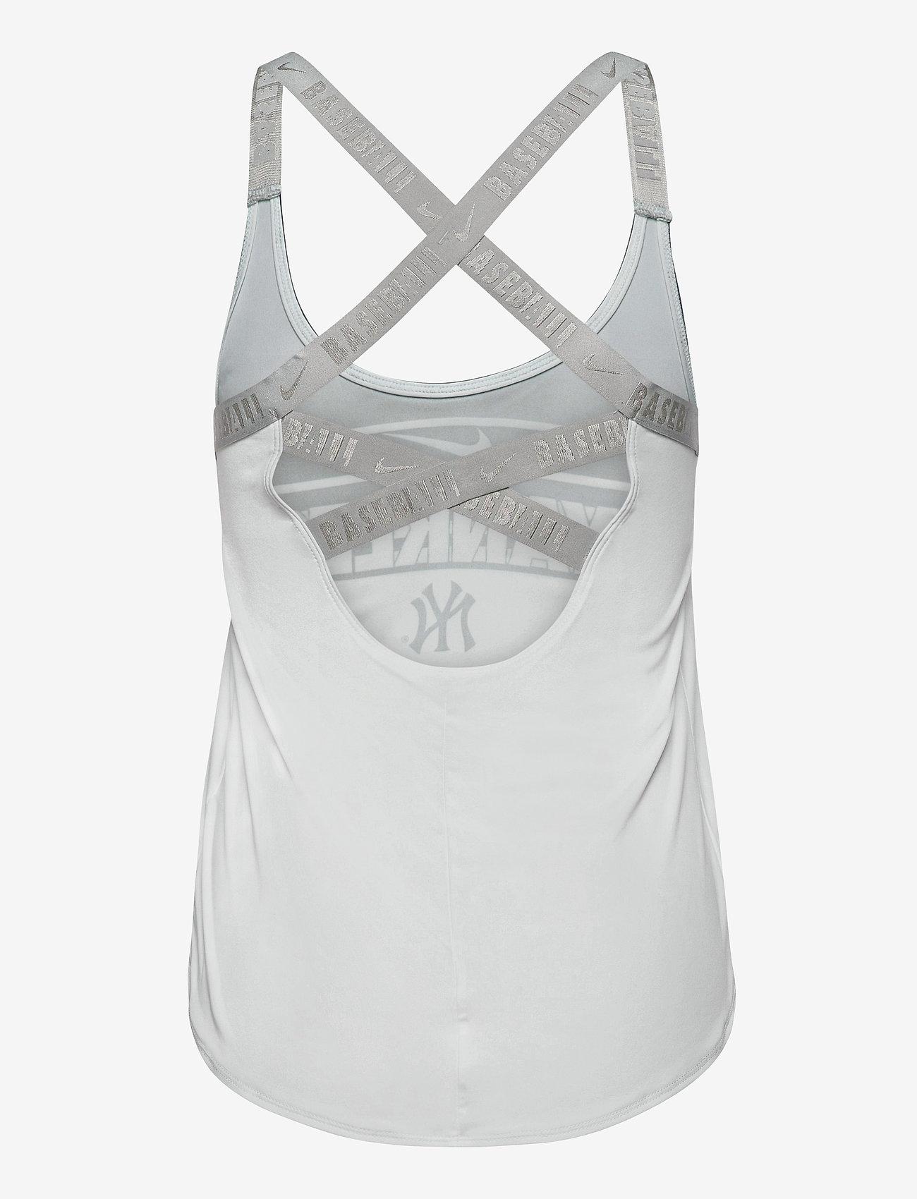 NIKE Fan Gear - New York Yankees Women's Nike Rising Stripe Dri-Fit Elastika - tank tops - white - 1
