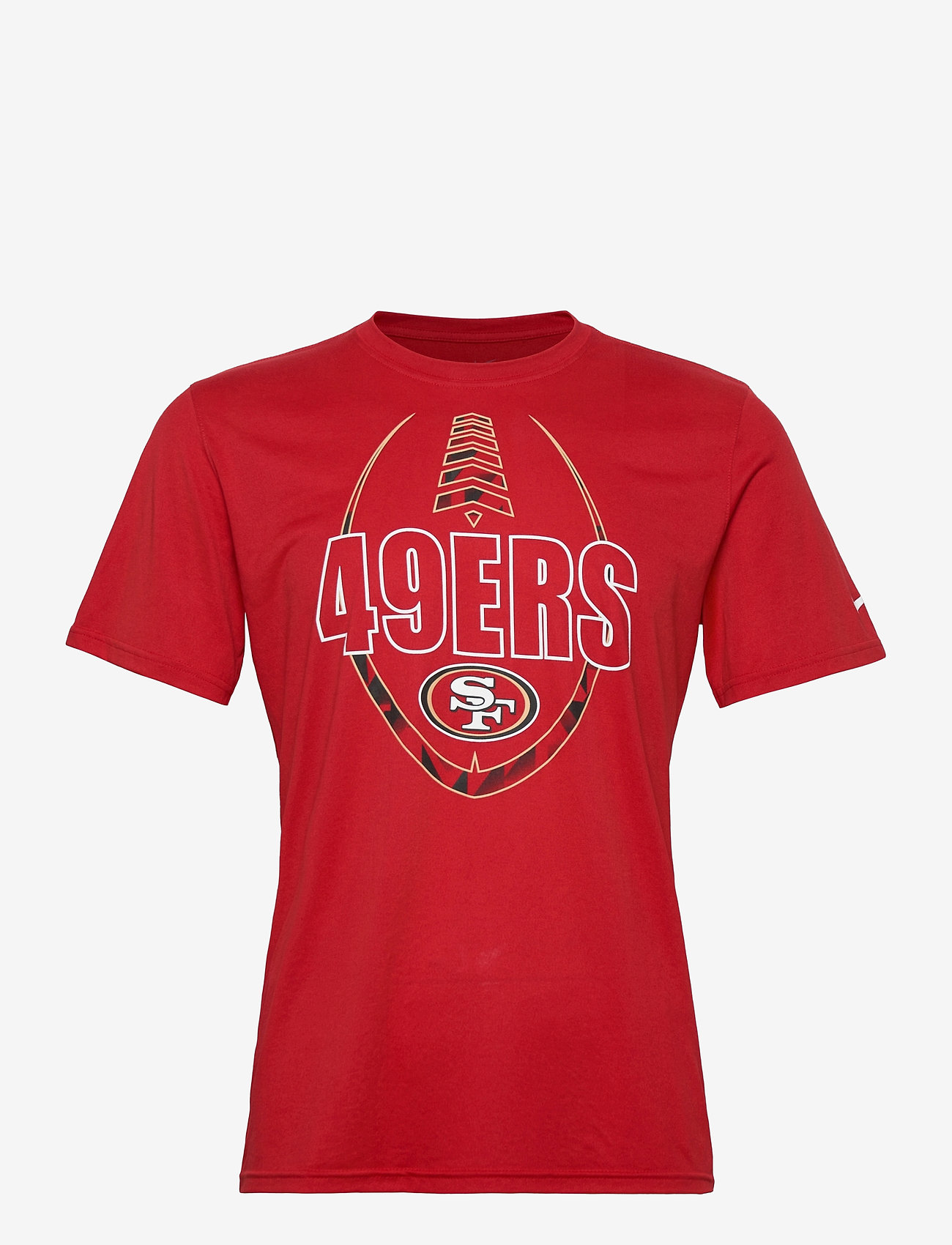 NIKE Fan Gear - San Francisco 49ers Nike Icon Essential T-Shirt - t-shirts - gym red - 0