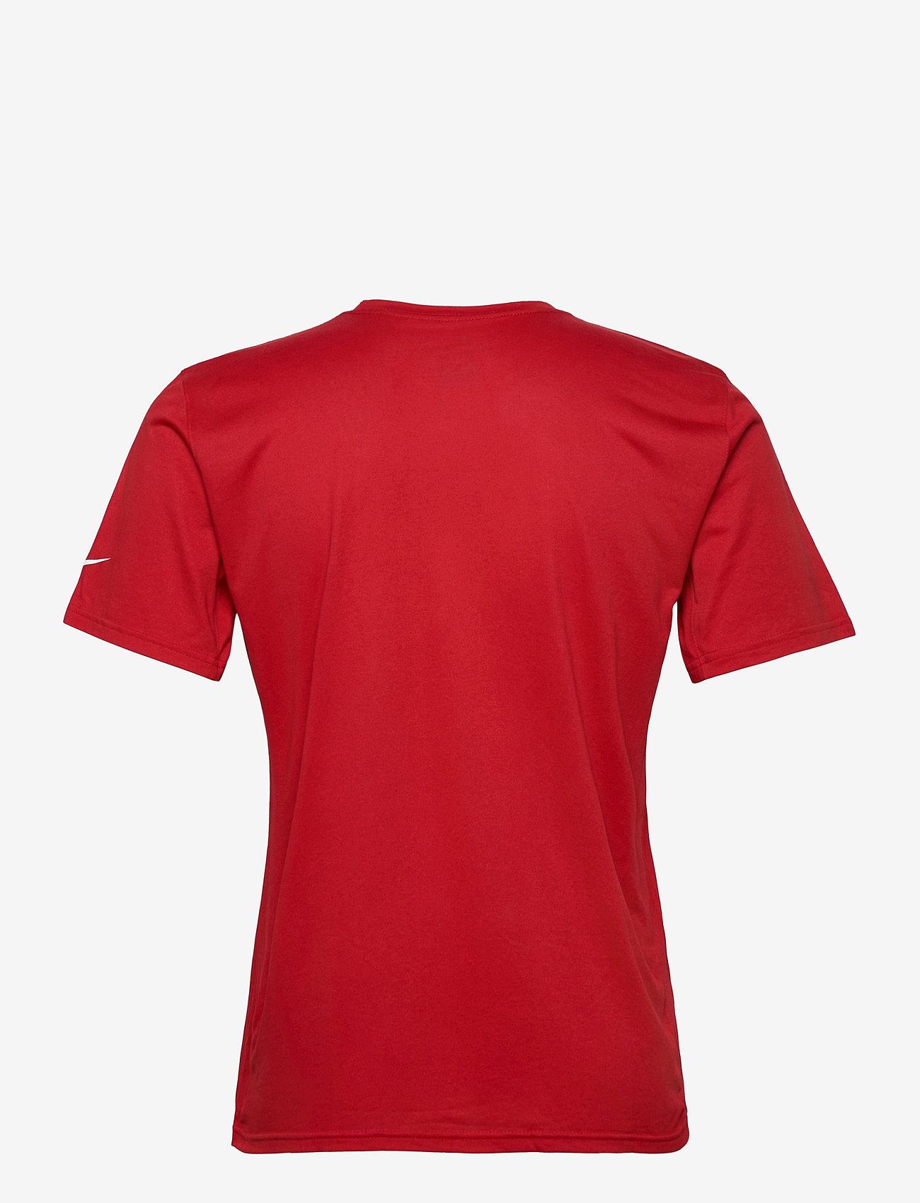 NIKE Fan Gear - San Francisco 49ers Nike Icon Essential T-Shirt - t-shirts - gym red - 1
