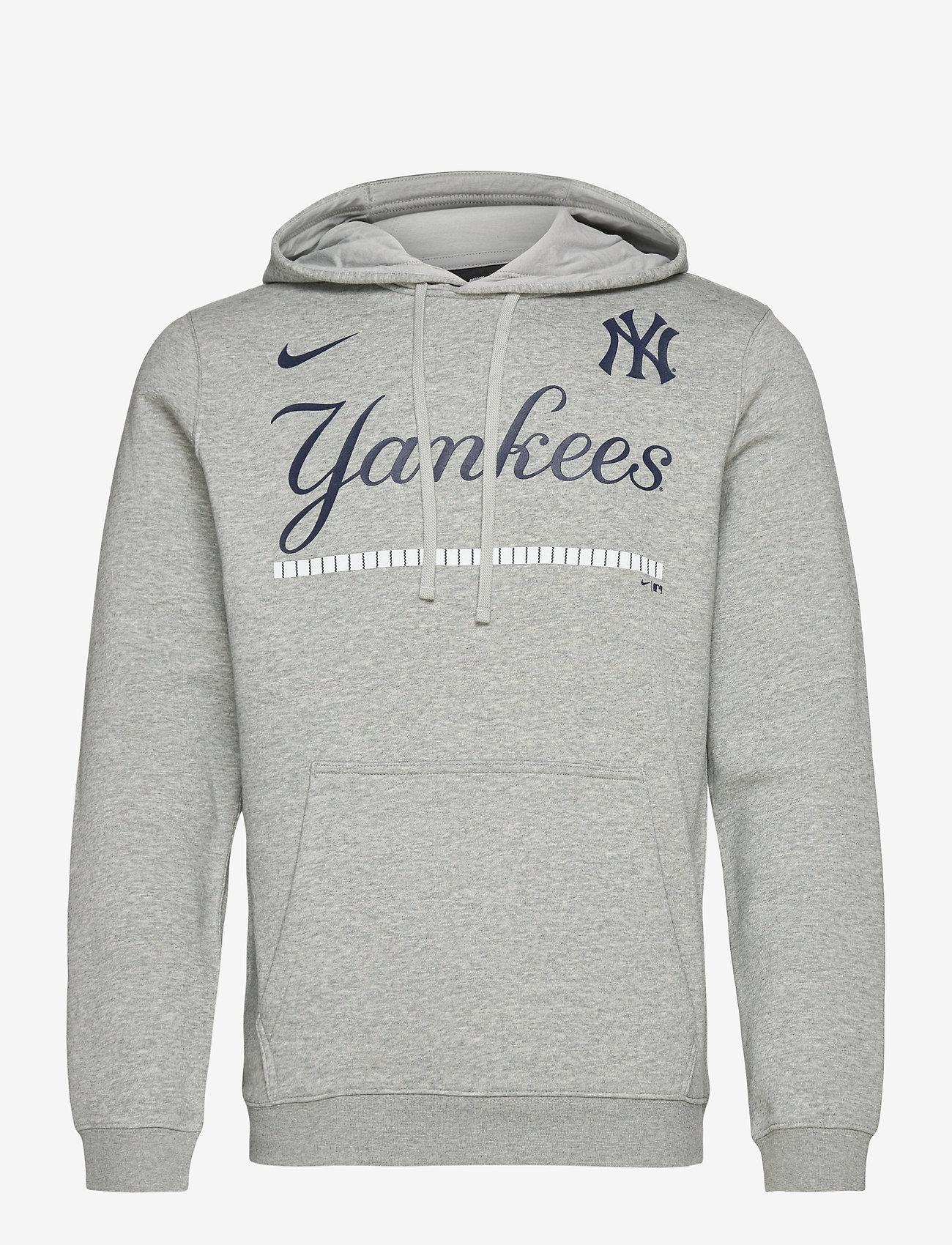 Leve intimidad Compulsión  New York Yankees Nike Color Bar Club Pullover Hoodie (Dark Grey Heather)  (69.90 €) - NIKE Fan Gear - | Boozt.com
