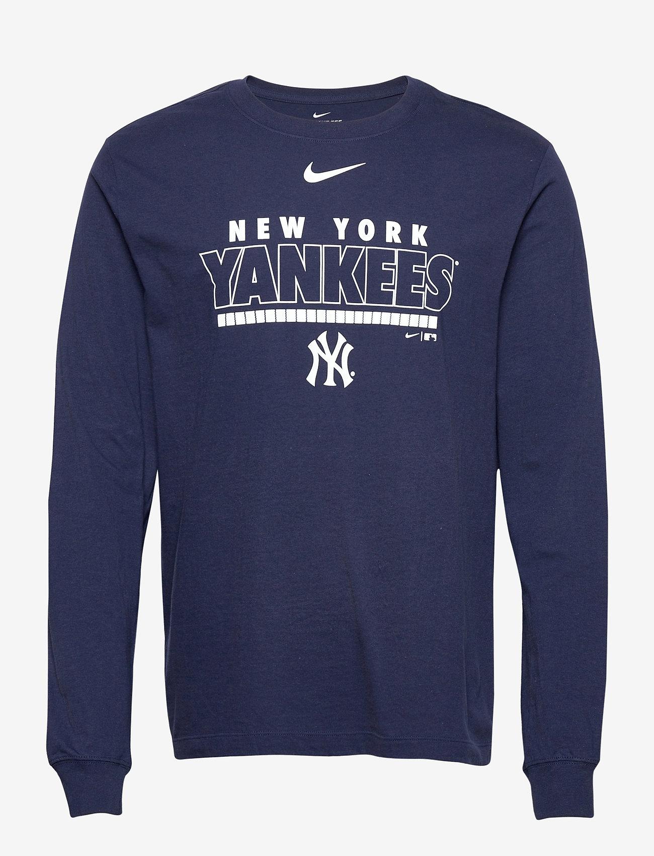 ignorar Negligencia recinto  New York Yankees Nike Color Bar Long Sleeve T-shirt (Midnight Navy) (44.90  €) - NIKE Fan Gear - | Boozt.com
