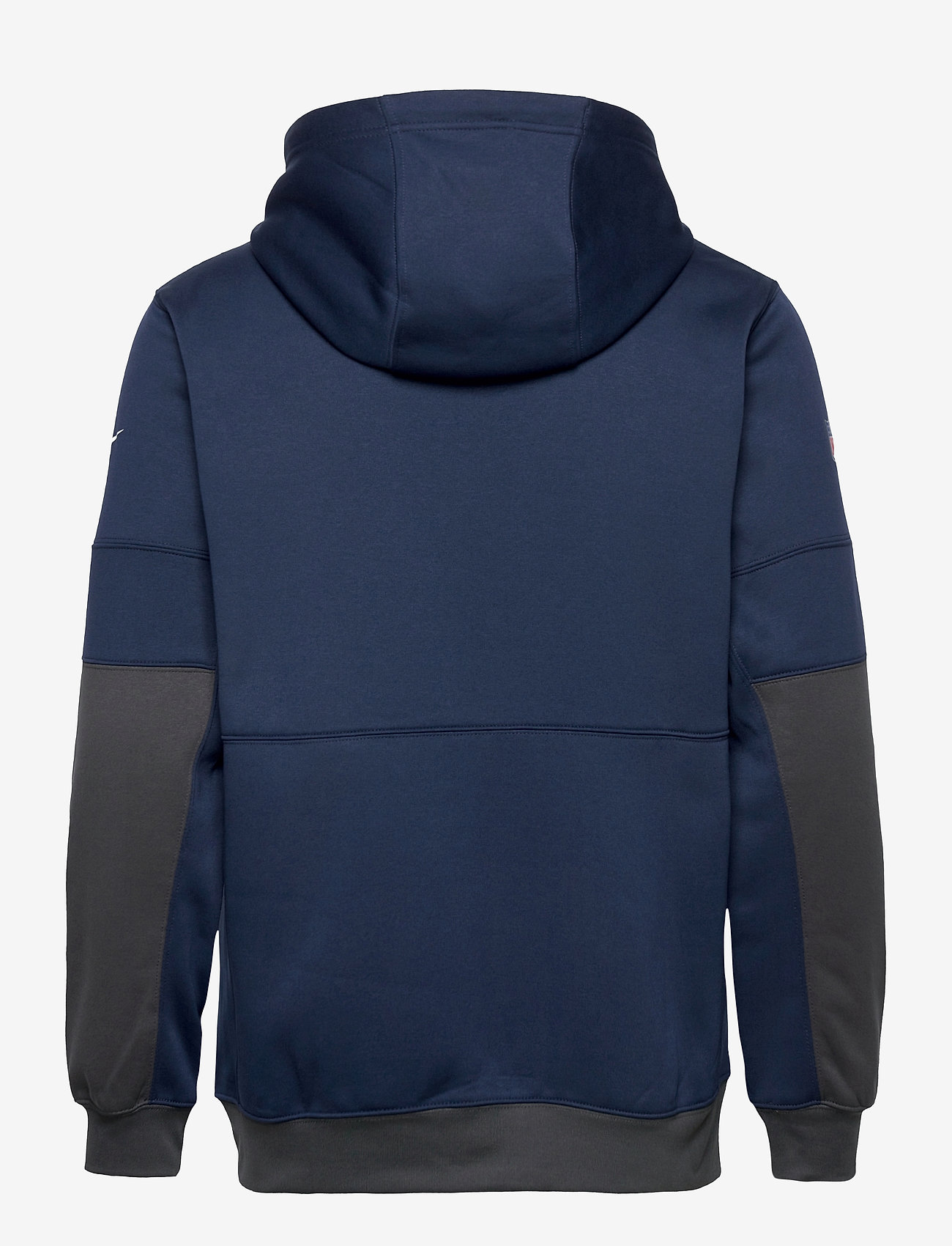 NIKE Fan Gear - New England Patriots Nike Lockup Therma Full Zip Hoodie - pulls a capuche - college navy / anthracite - 1
