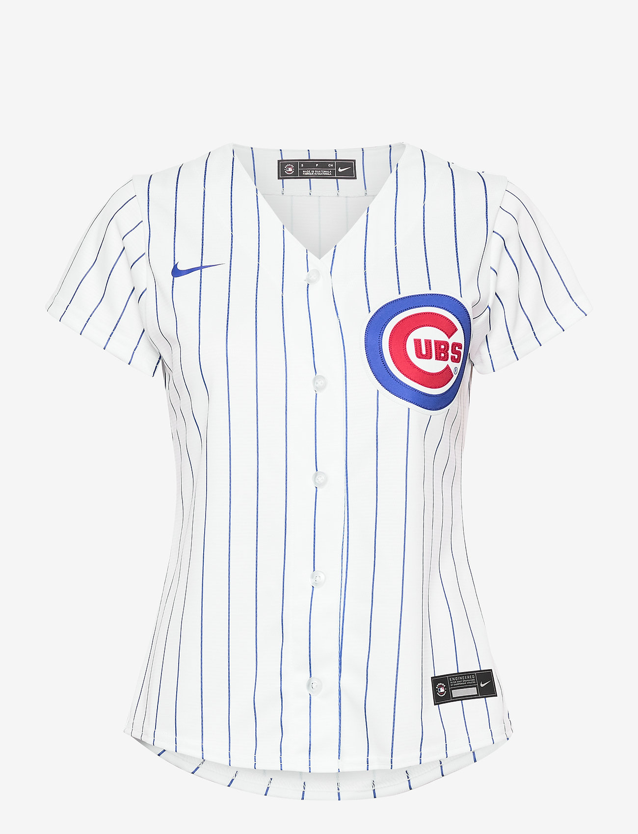 NIKE Fan Gear - Chicago Cubs Nike Official Replica Home Jersey - t-shirts - white - bright royal - 0