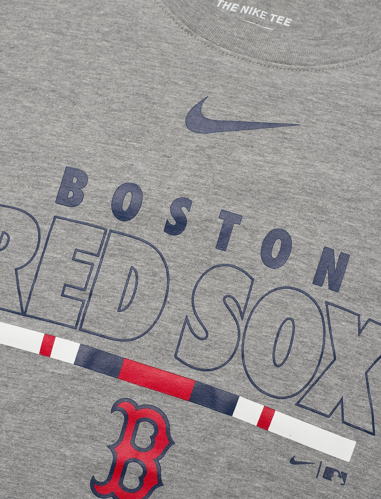 NIKE Fan Gear Boston Red Sox Nike Color Bar T-Shirt - T-skjorter DARK GREY HEATHER - Menn Klær