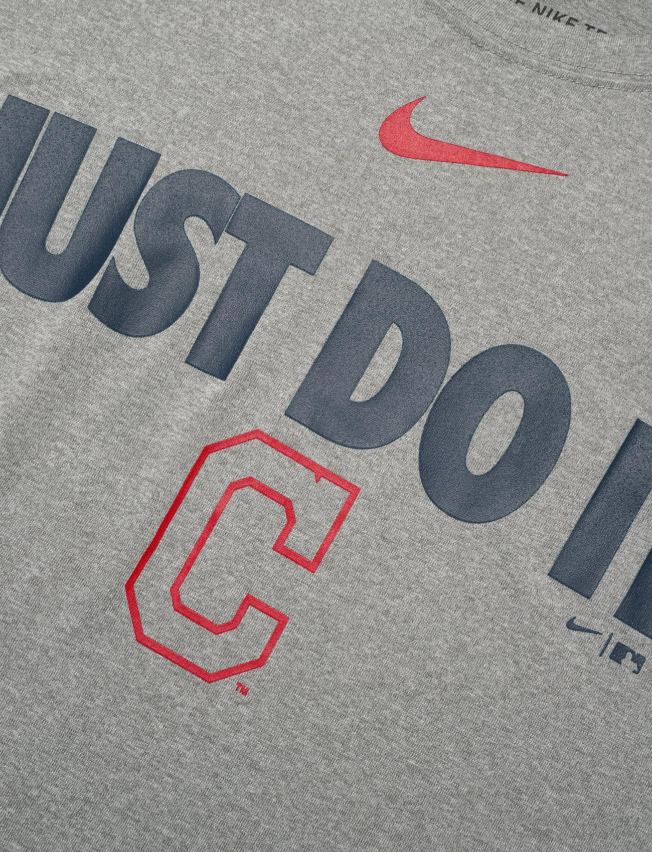 NIKE Fan Gear Cleveland Indians Nike Team Just Do It Legend T-Shirt - T-skjorter DARK GREY HEATHER - Menn Klær