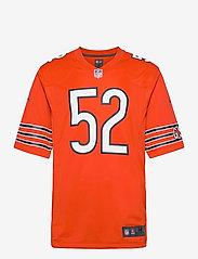 NIKE Fan Gear - Chicago Bears Nike Game Alternate Jersey - Player - t-shirts - university orange - 0