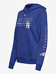 NIKE Fan Gear - LA Dodgers Nike Team Outline Club Pullover Hoodie - hoodies - rush blue - 2