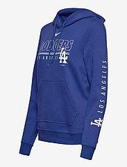 NIKE Fan Gear - LA Dodgers Nike Team Outline Club Pullover Hoodie - hettegensere - rush blue - 2