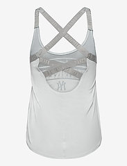 NIKE Fan Gear - New York Yankees Women's Nike Rising Stripe Dri-Fit Elastika - tank tops - white - 1